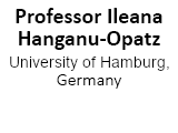 Prof Ileana Hanganu-Opatz, University of Hamburg, Germany