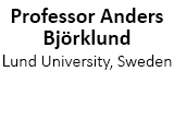 Professor Anders Björklund, Lund University, Sweden