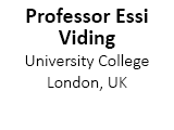 Professor Essi Viding, University College London, UK
