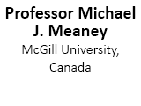 Professor Michael J. Meaney,  McGill University, Canada